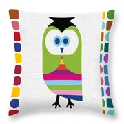 Animals Whimsical 5 Throw Pillow