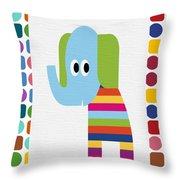 Animals Whimsical 8 Throw Pillow