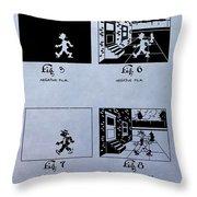 Animation Patent Throw Pillow