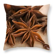 Anis Stars  Throw Pillow