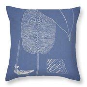 Anisogonium Cordifolium Throw Pillow
