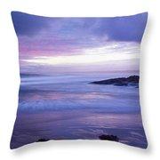 Anna Bay Sunset Throw Pillow