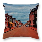Annapolis Throw Pillow by Benjamin Yeager