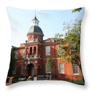 Annapolis - County House Throw Pillow