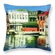 Annapolis Md Throw Pillow