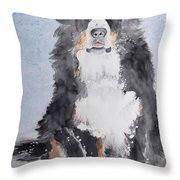 Anne Bell Throw Pillow