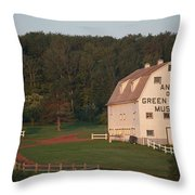 Anne Of Green Gables Museam Throw Pillow