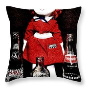Annie Forever Throw Pillow