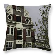 Anno 1644 Amsterdam Throw Pillow