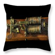 Announcing The End Of The Civil War Throw Pillow