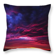 Anomaly Throw Pillow by Andrew Paranavitana