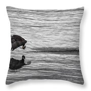 Another After The Catch Throw Pillow