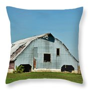 Another Barn To Repair Throw Pillow