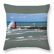 Another Big Wind Throw Pillow