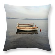 Another Boat Throw Pillow