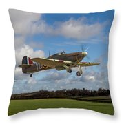 Another Day - Hurricanes Scramble Throw Pillow