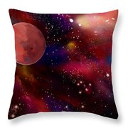 Another Galaxy Throw Pillow
