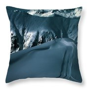 Another Late Day In The Mountains  Throw Pillow