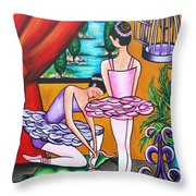 Another Lesson To Be Had Throw Pillow