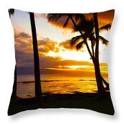 Another Maui Sunset Throw Pillow