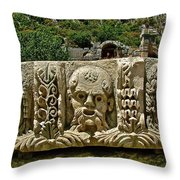 Another Relief In Myra-turkey Throw Pillow