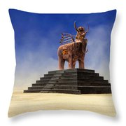 Another Roadside Attraction Throw Pillow