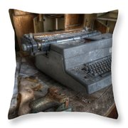 Another Secretary  Throw Pillow