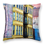 Another Slice Of Philly Throw Pillow