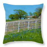 Another Spring Old And New Throw Pillow