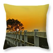Another Tequila Sunrise Throw Pillow