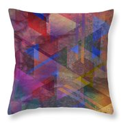 Another Time - Square Version Throw Pillow