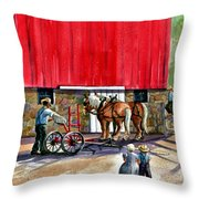 Another Way Of Life Throw Pillow by Marilyn Smith