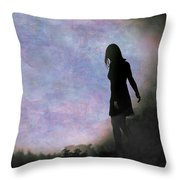 Another World Throw Pillow by Loriental Photography