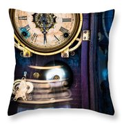 Ansonia Clock Throw Pillow