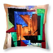 Answered Prayer Throw Pillow by Anthony Falbo