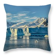 Antarctic Iceberg Throw Pillow