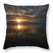 Antarctic Twilight... Throw Pillow