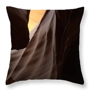 Antelop Canyon #5 Throw Pillow