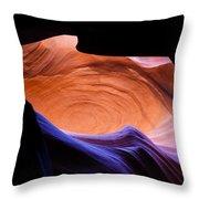 Antelope Canyon - Page Az Throw Pillow