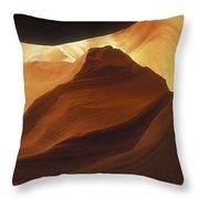 Antelope Canyon 42 Throw Pillow