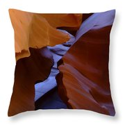 Antelope Canyon 40 Throw Pillow