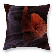 Antelope Canyon 34 Throw Pillow