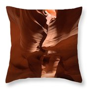 Antelope Canyon 11 Throw Pillow