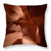 Antelope Canyon 12 Throw Pillow