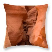 Antelope Canyon 14 Throw Pillow