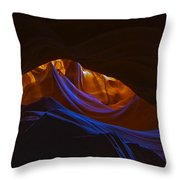 Antelope Canyon 19 Throw Pillow