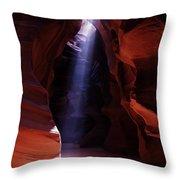 Antelope Canyon 3 Throw Pillow
