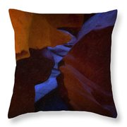 Antelope Canyon 36 Throw Pillow