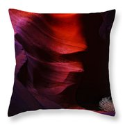 Antelope Canyon 24 Throw Pillow