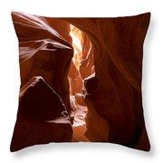 Antelope Canyon 4 Throw Pillow